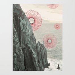 Spirograph Neahkahnie Headland Spires Poster