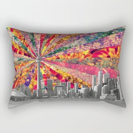 Blooming Toronto Rectangular Pillow