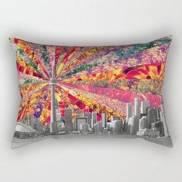 Blooming Toronto Rectangular Pillow