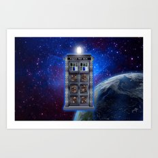 Steampunk time machine Phone booth iPhone 4 4s 5 5c 6, pillow case, mugs and tshirt Art Print