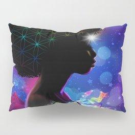Cosmic Goddess Heart Chakra Pillow Sham
