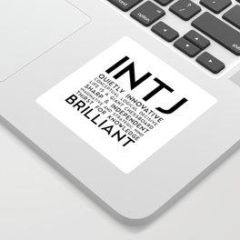 INTJ Sticker
