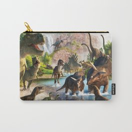 Jurassic dinosaur Carry-All Pouch