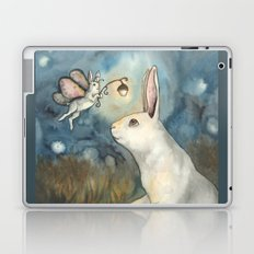 Night Bunny Fairy Laptop & iPad Skin