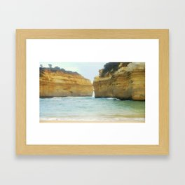 On a Collision Course Framed Art Print