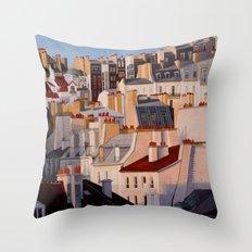 Monmartr Throw Pillow