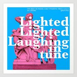 Laughing Art Print