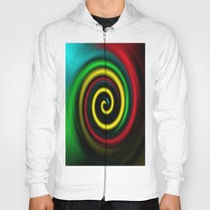 Swirling colours. Hoody