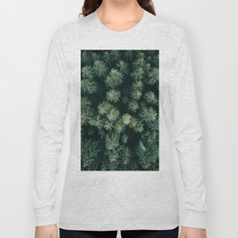 Forest from above - Landscape Photography Long Sleeve T-shirt