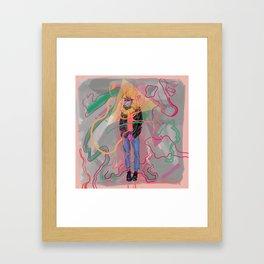 Choose Yer Weapon Framed Art Print