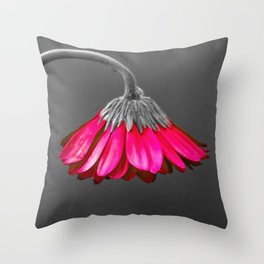Flower | Flowers | Melancholia | Drooping Flower Throw Pillow