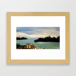 Stuart Inlet Framed Art Print