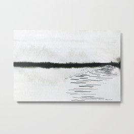 Minimalist landscape Metal Print