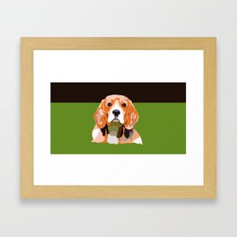 Petsy - Custom Pet Portraits Framed Art Print