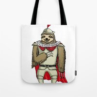 sloth Tote Bags featuring Sloth  by Artifact Supply