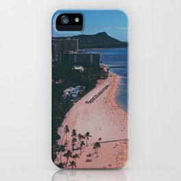 In The Sky Over Hawaii iPhone Case