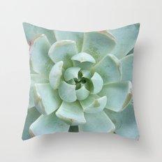Succulent Love Throw Pillow