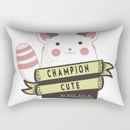 Champion Cute Rectangular Pillow