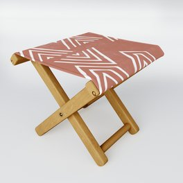 The Mountain Top - Rust Folding Stool