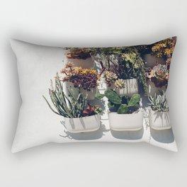 Succulent Wall Rectangular Pillow