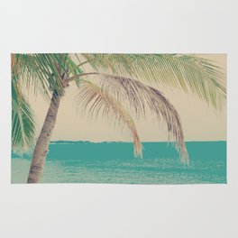 Coco Palm in the Beach  Rug