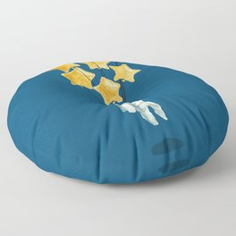Astronaut's dream Floor Pillow