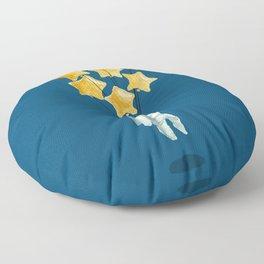 Astronaut's dream Floor Pillow