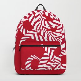 Candy cane flower 7 Backpack