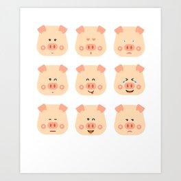 Year of the Pig Chinese New Year 2019 Zodiac Shirt Dark Light Art Print