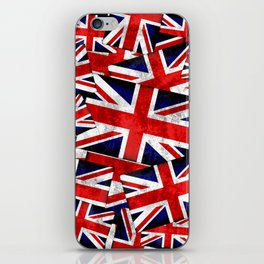 Union Jack British England UK Flag iPhone Skin