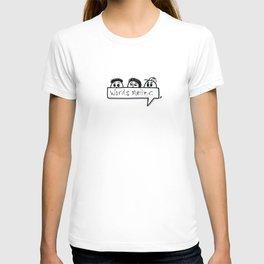 Words matter. T-shirt