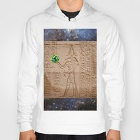 brasil Hoodies featuring THOTH BRASIL 2014 by Dozzo