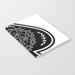 Ace of Spades Pentagram Star, Fun Gift Idea Design Notebook