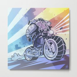 Street Centaur Metal Print