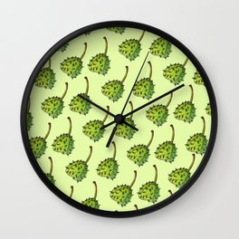 Chestnuts pattern Wall Clock