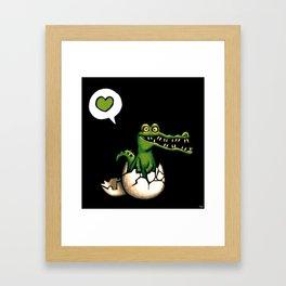 Cocodrilo Framed Art Print