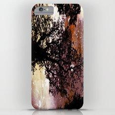 Black Trees Brown Beige Space iPhone 6 Plus Slim Case