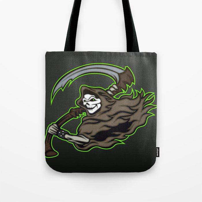 grim reaper ,grim reaper tattoos Tote Bag