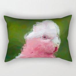 Galah (Eolophus roseicapillus) Rectangular Pillow