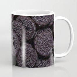 Oreo Cookie Pattern Illustration Coffee Mug