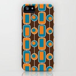 Orange Square iPhone Case