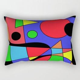 Abstract #87 Rectangular Pillow