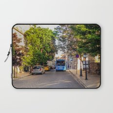 BUS IN BUDAPEST Laptop Sleeve