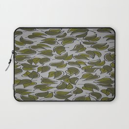 Leaves - Pattern Design - Wild Veda Laptop Sleeve