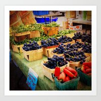 Fruits at the Markets Art Print