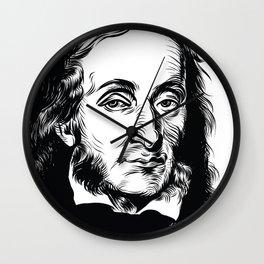 Fuck Yeah Paganini Wall Clock