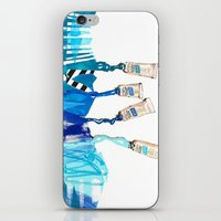 blues iPhone & iPod Skins featuring Blues by ST STUDIO