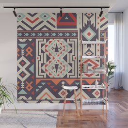 Special Tribal Pattern for Great Cover Design Wall Mural
