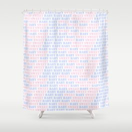Sweet Baby Design Shower Curtain