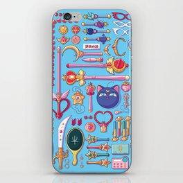 Magical Arsenal Blue iPhone Skin